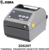 ZD-620T Bar Code Printer DT/TT - WiFi, Bluetooth, USB, Serial